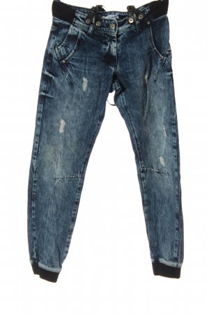 Vsct Baggy Jeans blue-black casual look