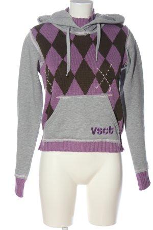 Vsct Kapuzensweatshirt Motivdruck Casual-Look