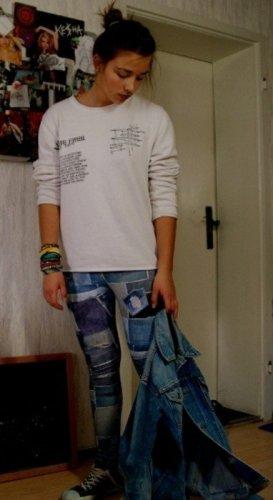 VSCT oversized Boyfriend Sweater Pullover Pulli Hoodie Hipster Blogger Streetstyle Grunge Vintage