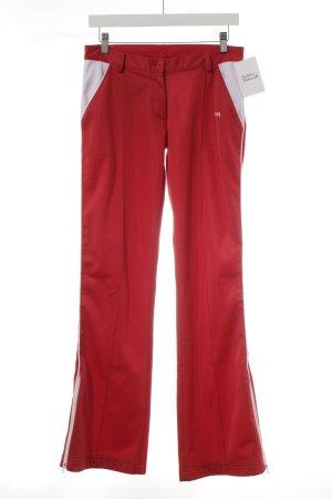 Vsct Sporthose rot-weiß sportlicher Stil