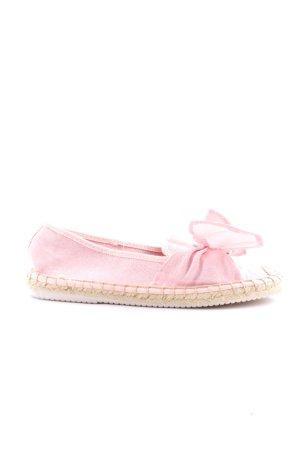 VTY Espadrilles-Sandalen pink-wollweiß Casual-Look