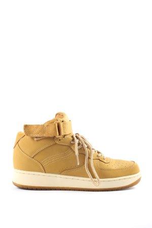 VTY High Top Sneaker braun-wollweiß Casual-Look