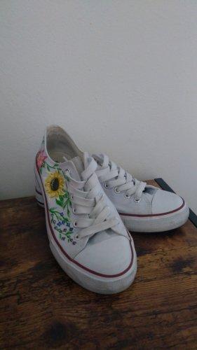 VTY Chaussure skate blanc