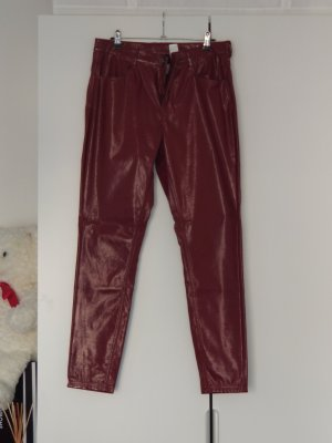 Vynil Hose Calzedonia rot