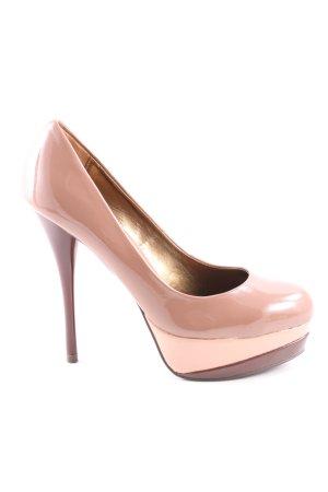 High Heels nude-pink Elegant