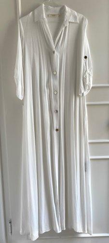 Babylon Maxi abito bianco-oro