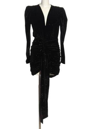 W les Femmes Langarmkleid schwarz Elegant