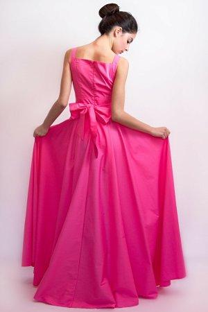 W Les Femmes original italienisches Maxi-Kleid
