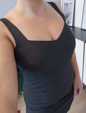 *w. NEU* Jil Sander Designer Mini Kleid Schwarz Kleines Schwarzes Gr. 36 S
