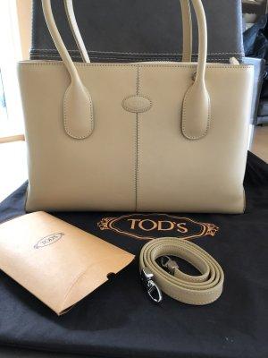 w. Neu Original Tod's D Bag beige