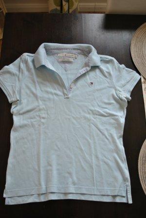 Gigi Hadid x Tommy Hilfiger Koszulka polo jasnoniebieski Bawełna