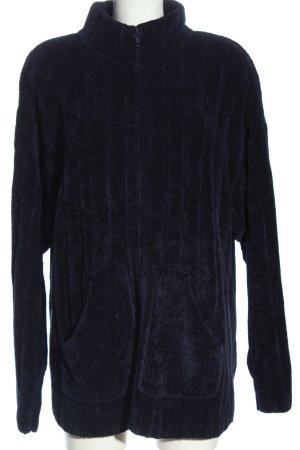 W.P.S Cardigan blau Streifenmuster Casual-Look