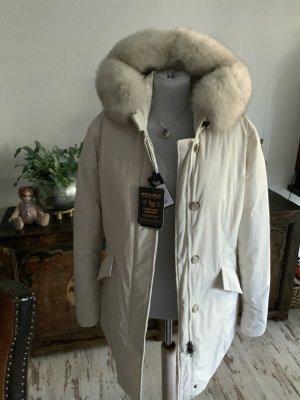 Woolrich Doudoune blanc cassé