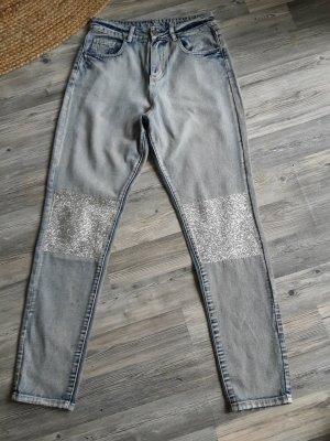 Noisy May Jeans boyfriend multicolore Cotone