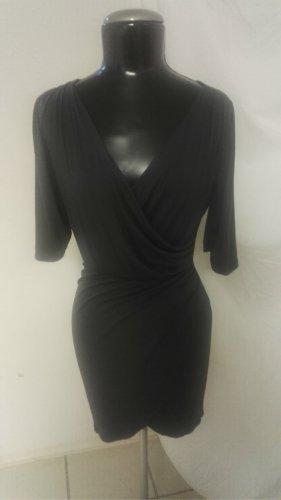 W6 Figurbetontes Jersey Kleid Grau Gr.38