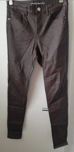 Orsay Leather Trousers multicolored