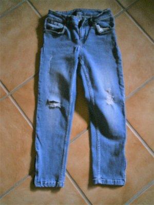 Laura Torelli 3/4 Length Jeans azure