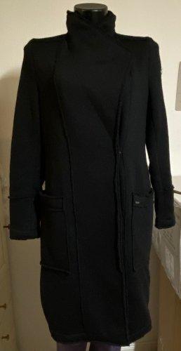 Dreimaster Gabardina tipo vestido negro