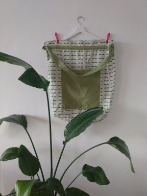 IKEA Sailor's Kitbag natural white-grass green