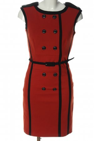 waggon paris Pencil Dress light orange-black elegant