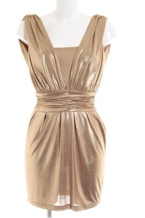 WAGs Abendkleid goldfarben Elegant