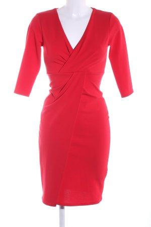 Wal G Abendkleid rot Business-Look
