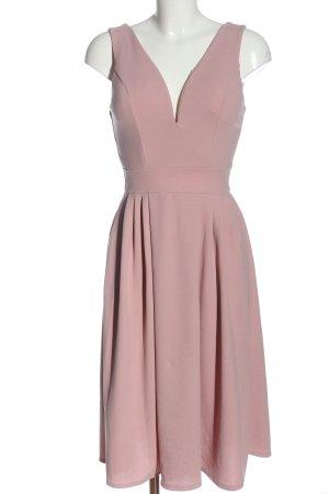 Wal G Robe de cocktail rose élégant
