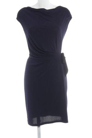 Wal G Jerseykleid dunkelblau Business-Look