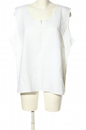 Walbusch Sleeveless Blouse white casual look