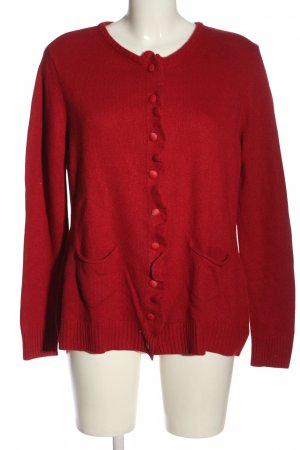 Walbusch Cardigan rot Casual-Look