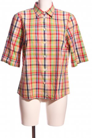 Walbusch Checked Blouse allover print casual look