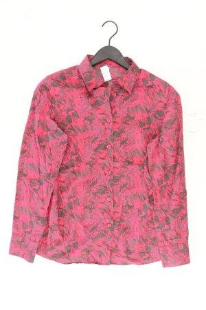 Walbusch Langarmbluse Größe 42 pink aus Baumwolle