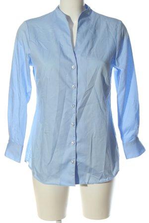 Walbusch Long Sleeve Shirt blue business style