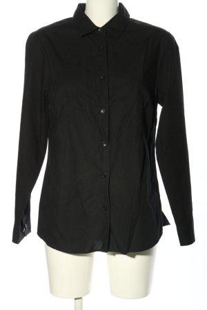 Walbusch Long Sleeve Shirt black business style