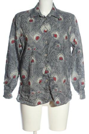 Walbusch Long Sleeve Shirt allover print casual look