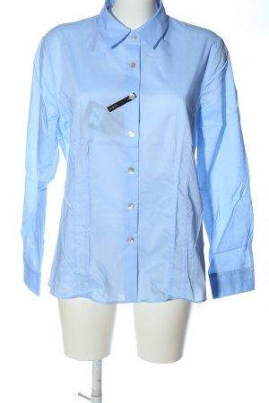 Walbusch Langarmhemd blau Casual-Look
