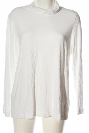 Walbusch Colshirt wit casual uitstraling