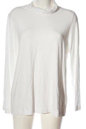 Walbusch Koszulka z golfem biały W stylu casual
