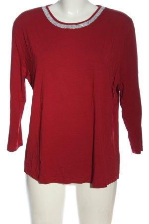 Walbusch Schlupf-Bluse rot Casual-Look