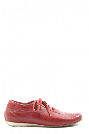 Walbusch Lace Shoes red casual look