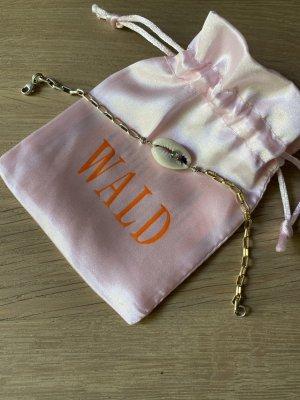 Wald Berlin Armband Muschel Kauri Gold Silber