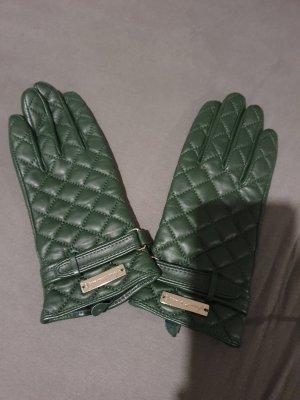 Waldgrüne Handschuhe