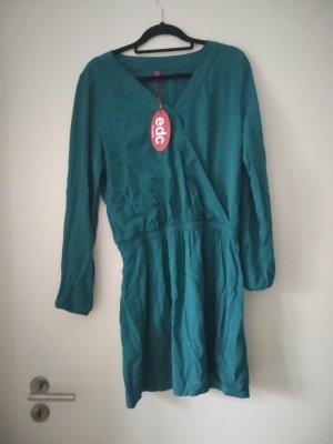 Waldgrünes Kleid von edc by Esprit, neu mit Etikett!