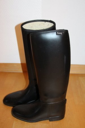 Swing Riding Boots black