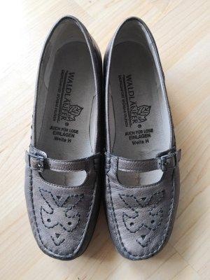 Waldläufer Zapatos formales sin cordones color bronce
