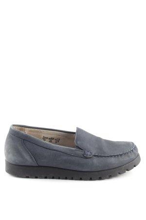 Waldläufer Zapatos de marinero gris claro estilo «business»