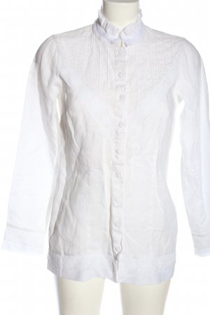 waldorff Chemise bavaroise blanc style d'affaires