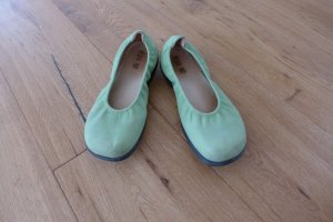 Foldable Ballet Flats lime-green