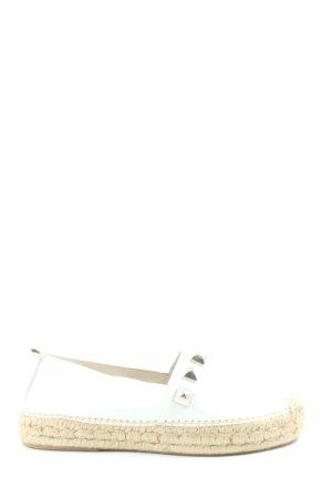Walk and Love Espadrille blanc-crème style décontracté