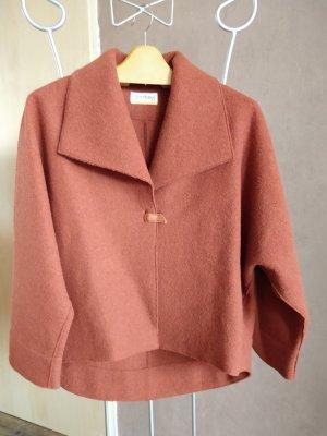 Deerberg Wool Blazer cognac-coloured